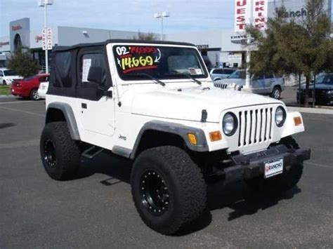 jeep sport 2002 2002 jeep wrangler used cars in san diego mitula cars