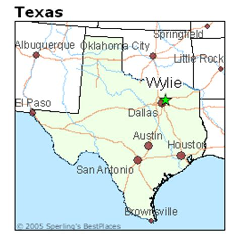 wiley texas map best places to live in wylie texas
