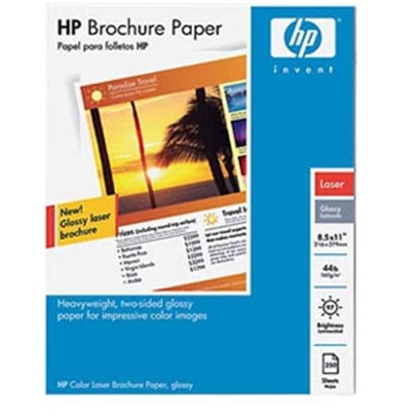 How To Make A Brochure On Paper - hp q6610a 8 5 x 11 inch 250 sheets color laser