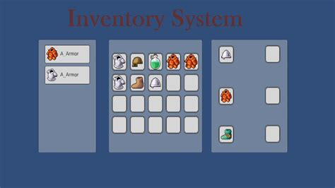 unity r layout tutorial inventory system with the new ui system 4 6 in