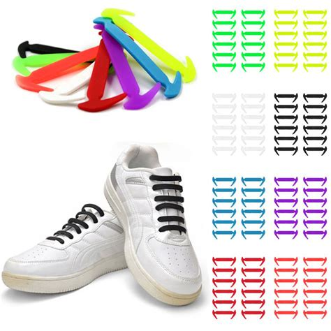 sneakers with elastic laces 12x no tie elastic silicone shoelaces laces shoes sneakers