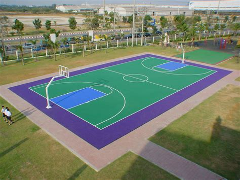 backyard sports courts sport court experienced courtbuilders sport court