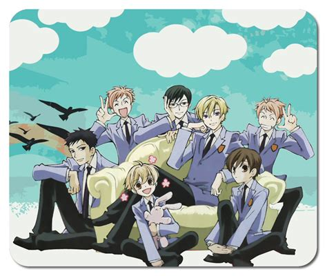 Ouran High School Host Club 1 11 new ouran high school host club 1 mousepad mouse mats mousepads