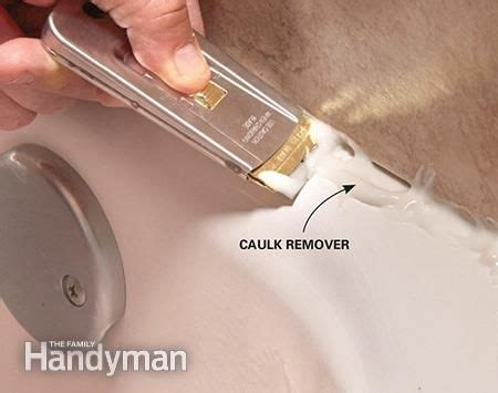 bathtub caulk removal how to re caulk a shower or bathtub bathtubs
