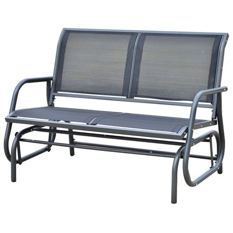 garden bench glider what is an outdoor glider bench outdoor decorations