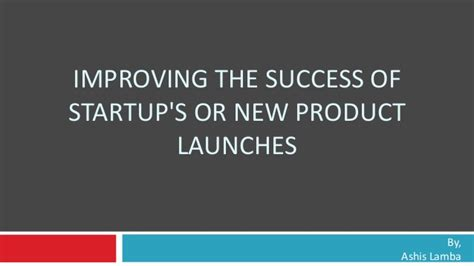What Are The Odds Of Your Success by Increasing Probability Of Startup Success