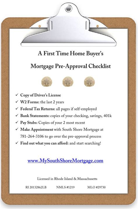 checklist for the time home buyer visual ly