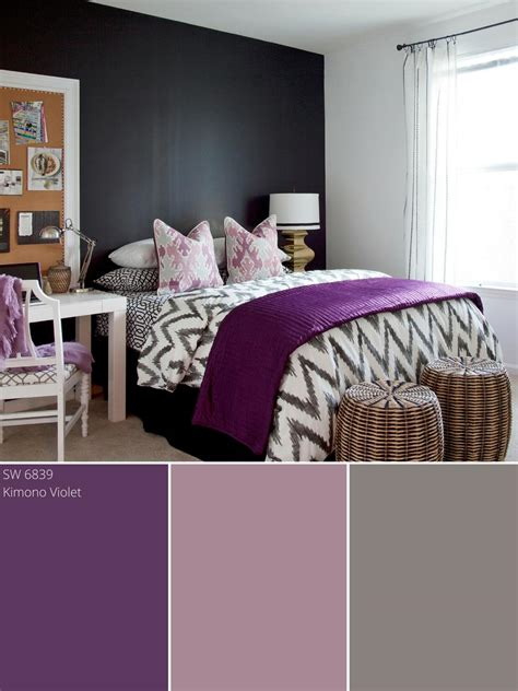 Bedroom Colour Schemes by Purple Color Palette Purple Color Schemes Hgtv