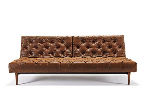 traditional style sofas traditional style tufted sofa bed in vintage black brown