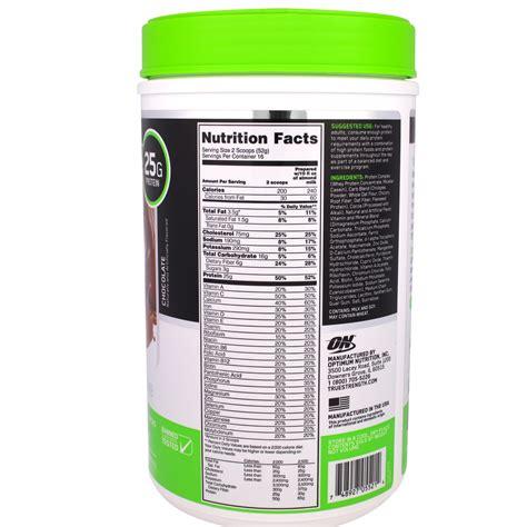 1 protein calories 1 protein shake calories