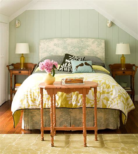 Interior Design Cottage Bedroom Color Splash Seafoam Green Pretty In