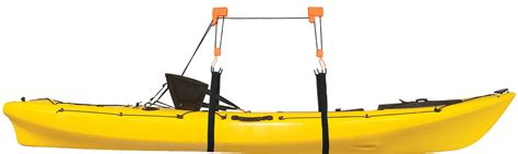 Kayak Garage Hoist by Heavy Duty Garage Utility Canoe And Kayak Lift Hoist