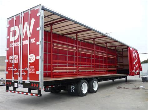 curtains for trailers 3 benefits of curtain side trailer