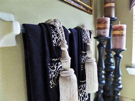 bathroom decorative towels master bathroom tuscan inspired be my guest with denise