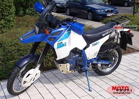 Dr 750 Suzuki 1988 Suzuki Dr Big 750 S Moto Zombdrive
