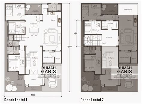 desain rumah 7 x 15 three modern and small contemporary style home plans and