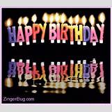 Birthday Cakes With Candles And Flowers | 271 x 239 animatedgif 67kB