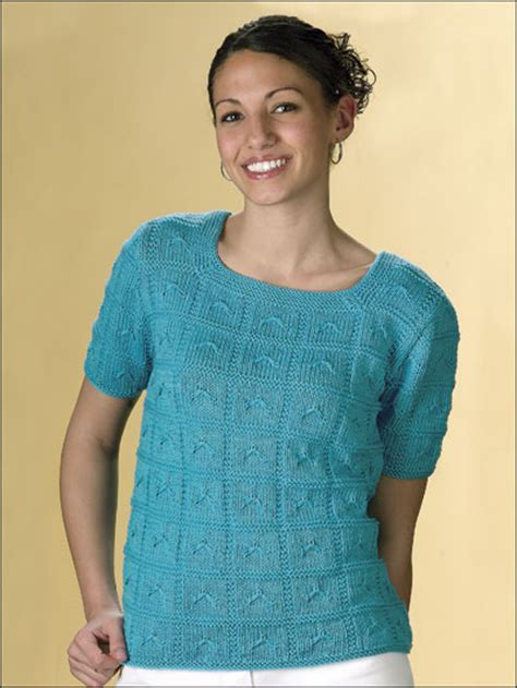 knit t free sleeved sweater knitting patterns caribbean
