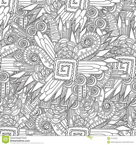 dainty damsels coloring book books seamless black and white geometric pattern coloring page