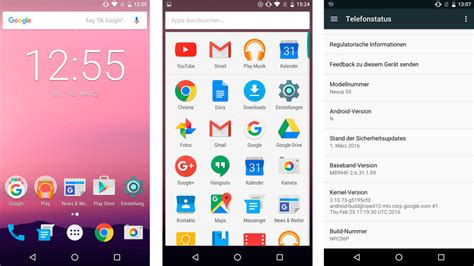 android version 7 android 7 nougat finale version im test computer bild