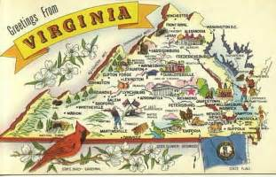 Map Of Virginia State by Gallery For Gt Virginia State Map
