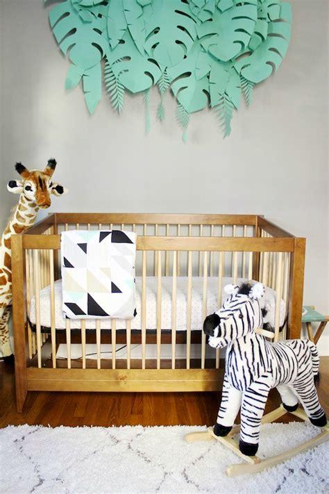 decoracion pared bebes decoraci 243 n safari para el beb 233 decoraci 243 n beb 233 s
