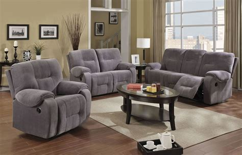 Gray Recliner Sofa Sofa Interesting Grey Reclining Sofa 2017 Design Gray Leather Sectionals 3 Seater Fabric