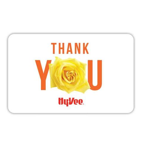 Hy Vee Gift Card Special - hy vee gift card thank you 40558 hy vee aisles online grocery shopping