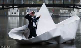 How To Make A Paper Boat That Holds Weight - all aboard hms origami what happened when we tested