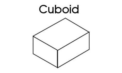 How To Make A 3d Cuboid Out Of Paper - 3d shapes for cuboid kidspot