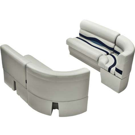 pontoon upholstery bow radius pontoon boat seats front group ws14031