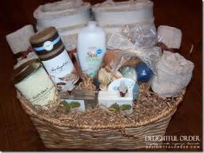 Bathroom Gift Ideas by Delightful Order Relaxation Gift Basket Idea