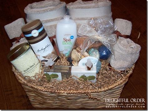 Bathroom Gift Basket Ideas Delightful Order Relaxation Gift Basket Idea