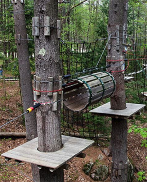 extreme backyard adventures adirondack extreme adventure course in bolton landing n y