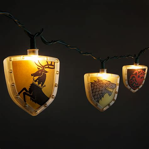 batman string lights of thrones sigils string lights thinkgeek