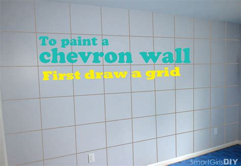 painted wall grid easy way to paint chevron wall how to paint a chevron