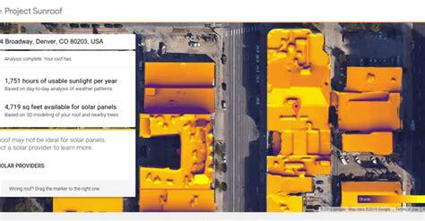 project sunroof google 171 inhabitat green design google s free online solar power calculator expands to 9