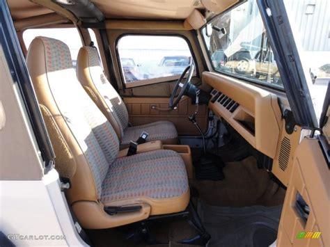1995 Jeep Wrangler Interior 1995 Jeep Wrangler Grande 4x4 Interior Photos