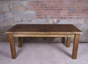 Dining Table Real Wood Solid Wood Dining Table By H F Notonthehighstreet