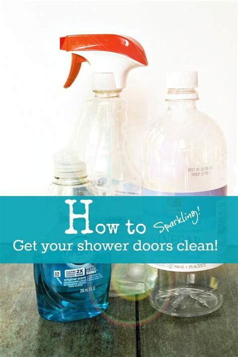 27 Homemade Cleaners To Make For Spring Cleaning Tip Junkie Cleaning Shower Doors With Vinegar