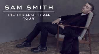 sam smith fan club sam smith anuncia gira quot the thrill of it all tour