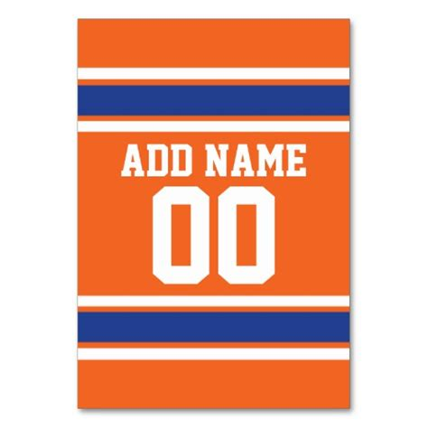 sports card template for jersey numbers football jersey cards football jersey card templates