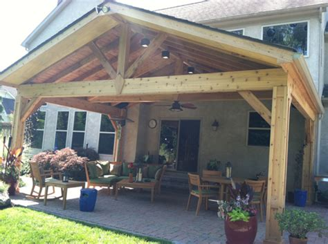 Open Patio Designs Columbus Oh Rustic Open Porches Columbus Decks Porches And Patios By Archadeck