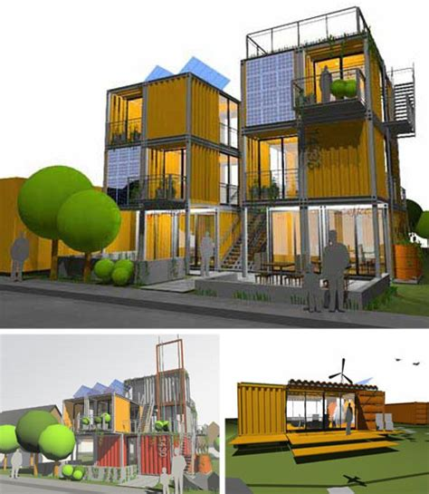 Container Home Floor Plans by 10 Cargo Shipping Container Houses Building Designs