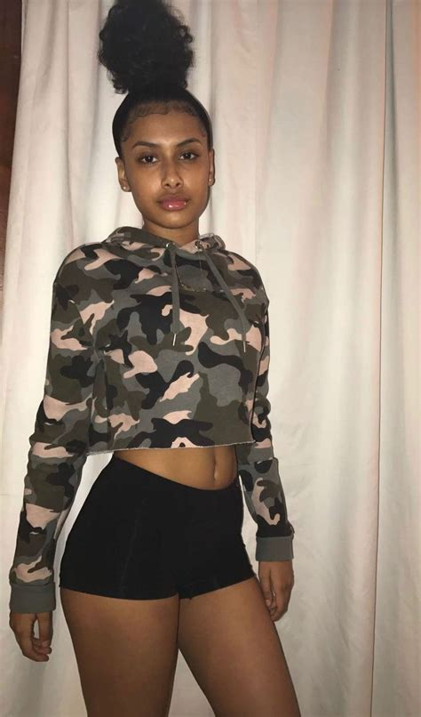 pin  jakiyah thomas  baddie pretty black girls cute