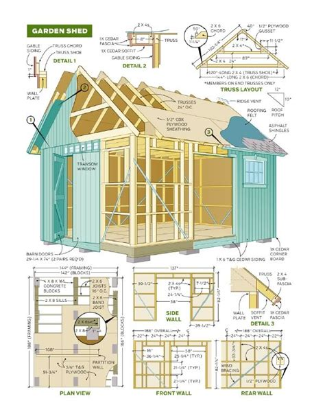 shed plans   shed plans essential considerations