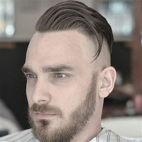 combover with one side shaved edgy men s haircuts men s haircuts hairstyles 2017