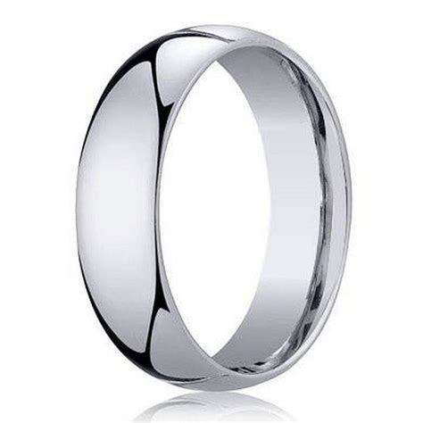 benchmark men s wedding band in 950 platinum classic design 5mm