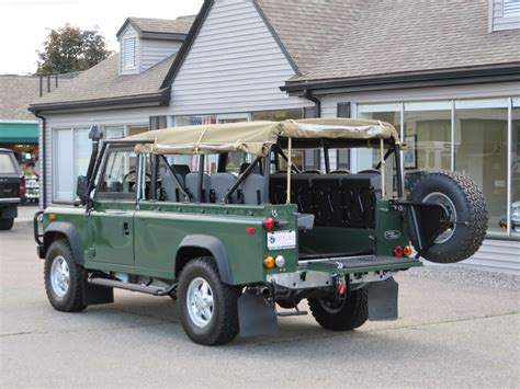 land rover defender 110 convertible 1994 land rover defender 110 convertible copley motorcars
