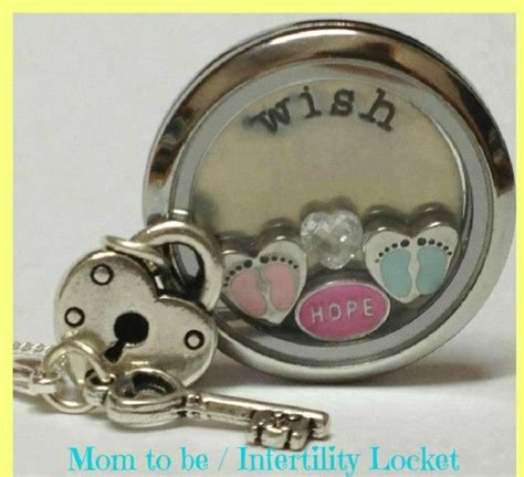 Origami Owl Baby Locket - origami owl wish want baby boy baby key